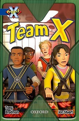 Team X  by  Tony Bradman