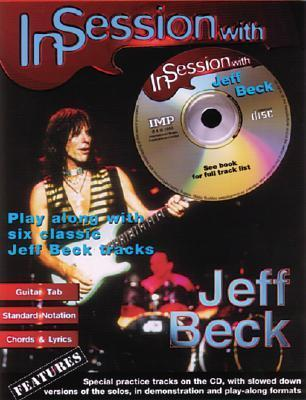 In Session with Jeff Beck / Guitar-Tab Book and CD  by  Jeff Beck