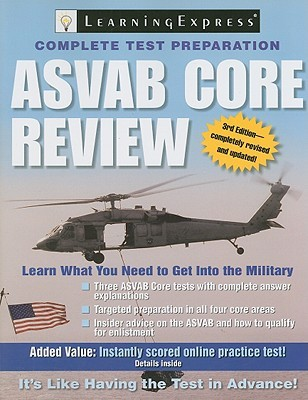 Asvab Core Review  by  LearningExpress Editors