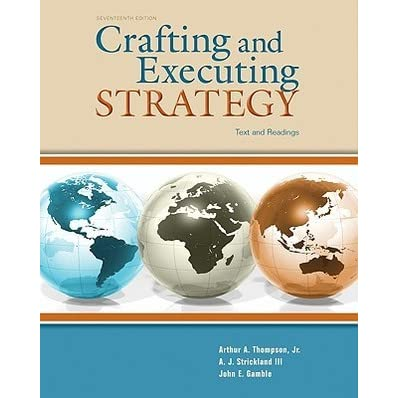 Crafting And Executing Strategy Test Bank Pdf