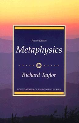 Metaphysics (Foundations of Philosophy Series)  by  Richard  Taylor