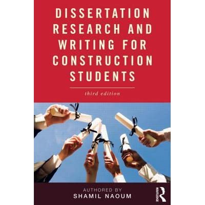 Dissertation In Construction Management