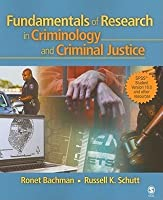 Fundamentals of Research in Criminology and Criminal Justice [With CDROM]