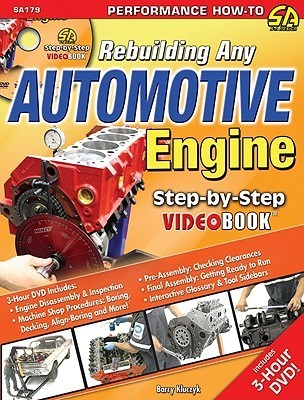 Rebuilding Any Automotive Engine Step-by-Step Videobook (Step-By-Step Video Book) (Performance How-To) Barry Kluczyk