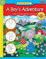 A Boy's Adventure [With Sticker and Drawing Pad]