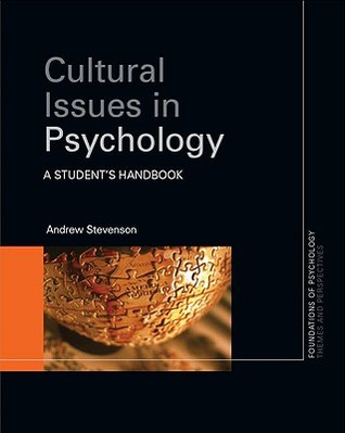 Cultural Issues In Psychology  by  Andrew Stevenson