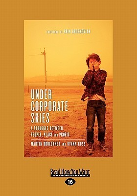 Under Corporate Skies: A Struggle Between People, Place and Profit  by  Martin Brueckner