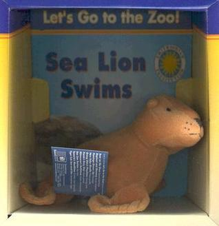 Sea Lion Swims [With Stuffed Sea Lion]  by  Jessie Cohen