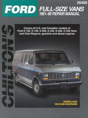 Ford Full-Size Vans, 1961-88  by  Chilton Publishing