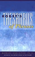 Roget's Thesaurus of Phrases