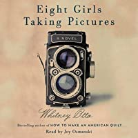 Eight Girls Taking Pictures