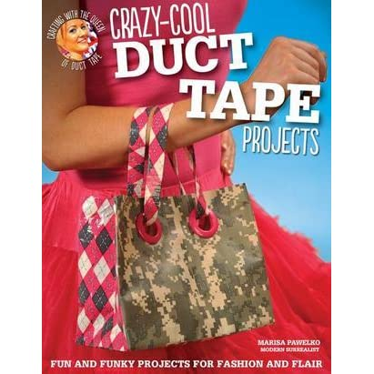 fun duct tape projects Duct tape isn't just for keeping in the garage it has many uses, including some really fun projects you can do to help make your home a little better.