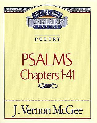 Psalms 1-41  by  J. Vernon McGee