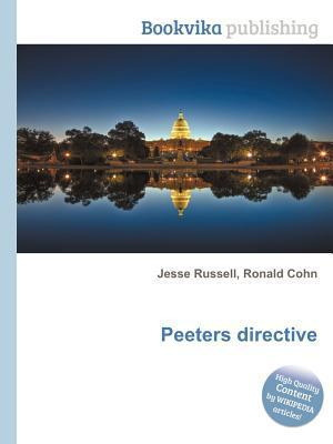 Peeters Directive  by  Jesse Russell