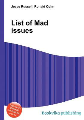 List of Mad Issues Jesse Russell