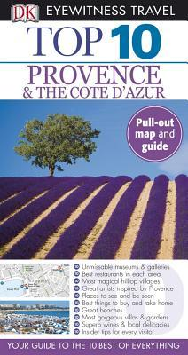Top 10 Provence & the Cote DAzur [With Pull-Out Map]  by  Robin Gauldie