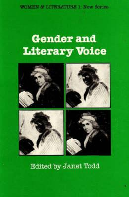 Gender and Literary Voice Janet Todd