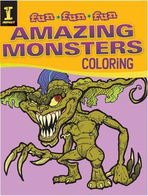 Amazing Monsters Coloring Editors of Impact Books