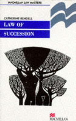 Law of Succession  by  Catherine Rendell