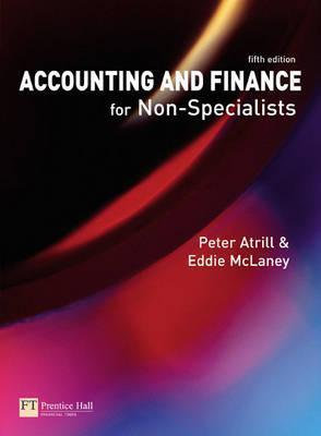 Accounting And Finance For Non Specialists Peter Atrill