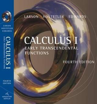 Calculus I: Early Transcendental Functions  by  Bruce H. Edwards