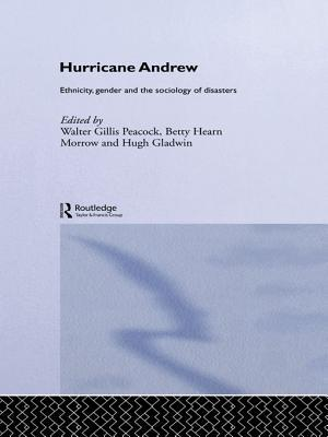 Hurricane Andrew: Ethnicity, Gender and the Sociology of Disasters  by  Hugh Gladwin