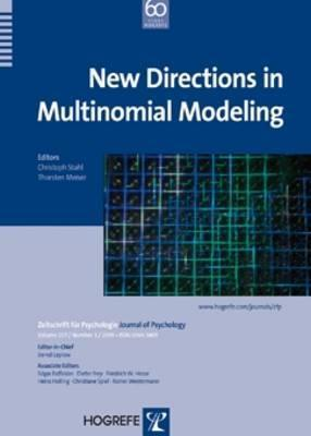 New Directions in Multinominal Modeling Christoph Stahl