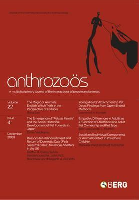 Anthrozoos Volume 22 Issue 4: A Multidisciplinary Journal of the Interactions of People and Animals  by  Anthony L. Podberscek