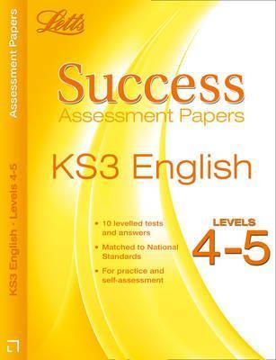 Ks3 English Levels 4-5: Assessment Papers Cherie Rowe