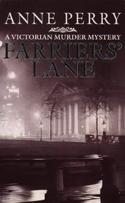Farriers Lane (Charlotte & Thomas Pitt, #13)  by  Anne Perry