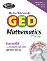 GED Mathematics w/ CD-ROM (REA) -- The Best Test Prep for the  GED