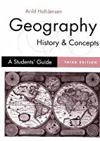 Geography - History and Concepts: A Student's Guide