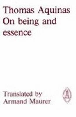 On Being & Essence Thomas Aquinas