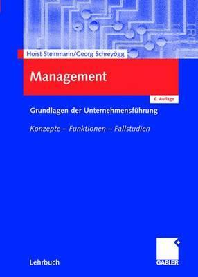 Management  by  Georg Schreyögg