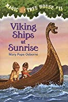 Viking Ships at Sunrise