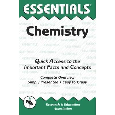 Chemistry Essentials - Research & Education Association