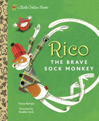 Rico the Brave Sock Monkey Fiona Rempt