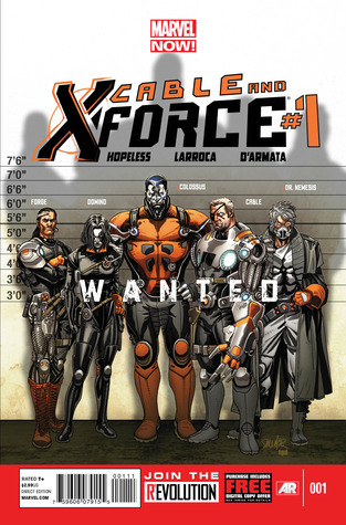 Cable and X-Force #1 (Marvel NOW!) Dennis Hopeless