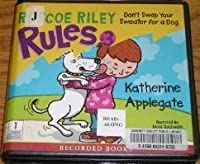 Don't Swap Your Sweater For A Dog (Roscoe Riley #3)