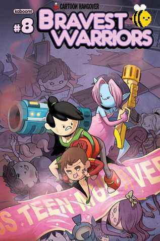 Bravest Warriors #8  by  Joey Comeau
