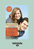 Daily Victory, Daily Joy: Bible Study Series (Large Print 16pt)