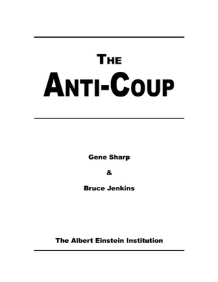 The anti-coup  by  Gene Sharp