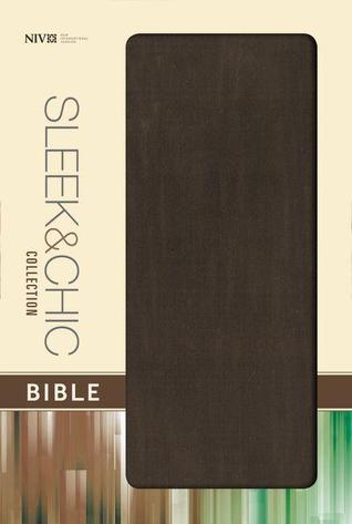 NIV, Sleek and Chic Collection Bible, Fabric Softcover, Brown  by  Zondervan Publishing