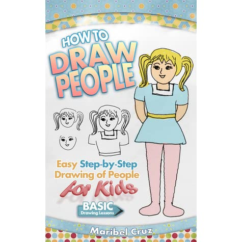 how to draw people step by step for kids easy