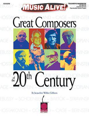 Great Composers of the 20th Century (Book/CD) Jacqueline Wollan Gibbons