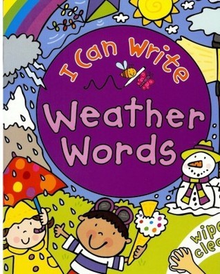 I Can Write Weather Words  by  Simon Abbott