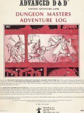 Dungeon Masters Adventure Log (Advanced Dungeons & Dragons/9036)  by  TSR Hobbies