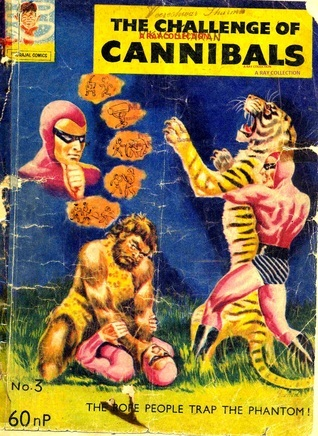 Phantom-The Challenge Of Cannibals (Indrajal Comics No. 003)  by  Lee Falk