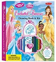 Learn to Draw Disney's Enchanted Princesses: Drawing Book & Kit