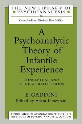 A Psychoanalytic Theory of Infantile Experience: Conceptual and Clinical Reflections  by  Eugenio Gaddini
